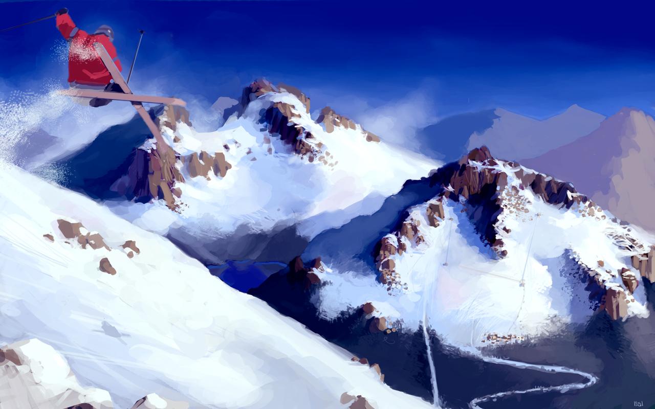 SNOW - Adrenalinové lyžování na CryEngine 3 54979