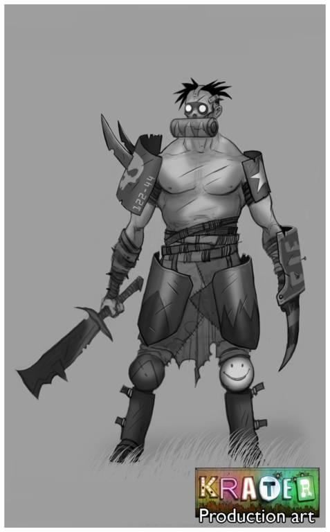 Představeno post-apokalyptické RPG Krater 55007
