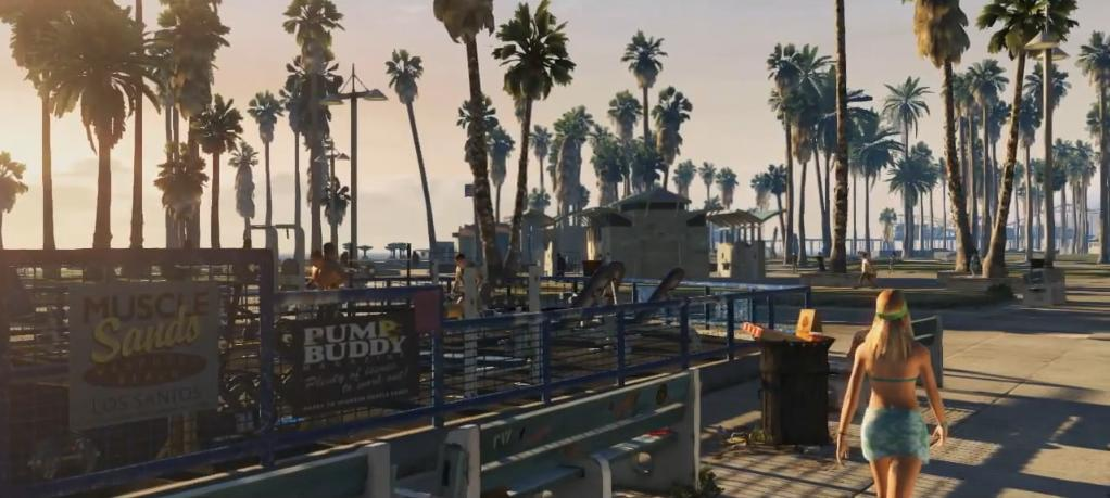 Grand Theft Auto V – Los Santos před dvaceti lety a dnes 55121