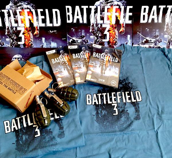 Soutěž o tři PC verze Battlefield 3 55480