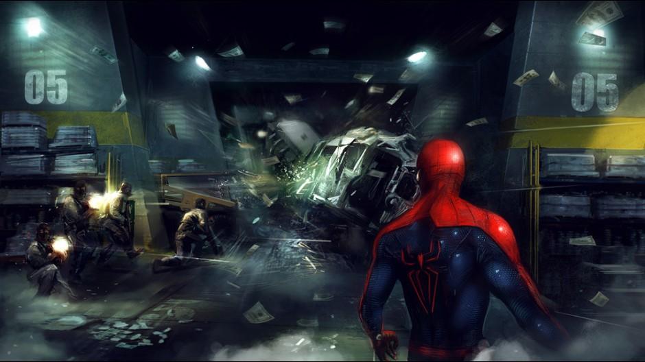 Tři koncepty z nového Spider-Mana 55578