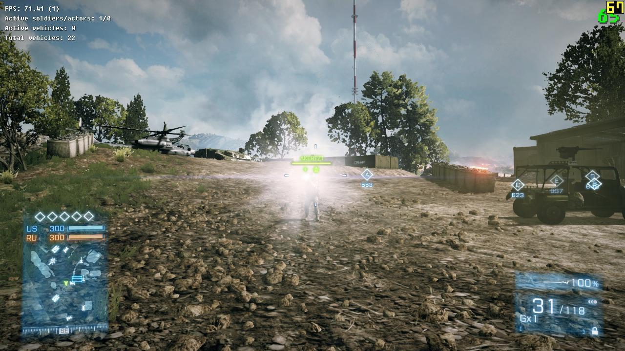 Battlefield 3 patch opraví oslňování baterkami 55711