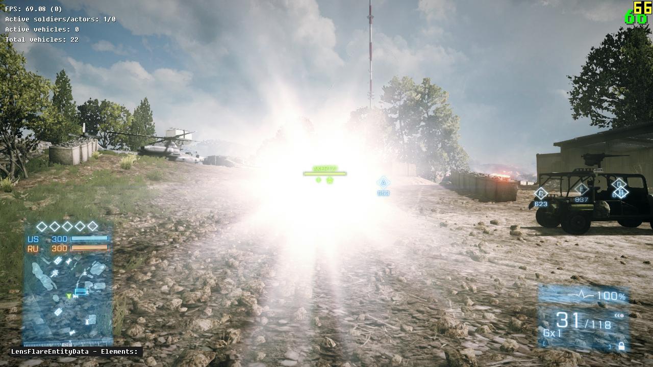 Battlefield 3 patch opraví oslňování baterkami 55712