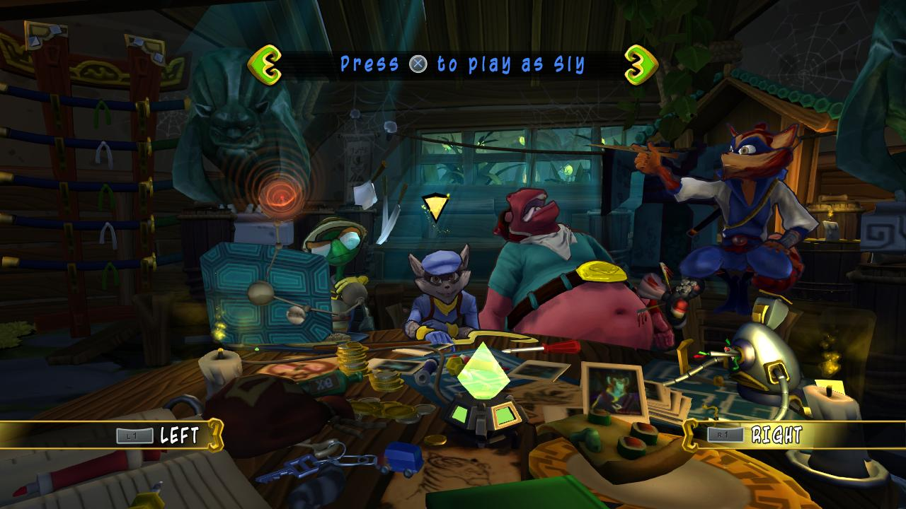 Sly Cooper: Thieves in Time obrázky 55855