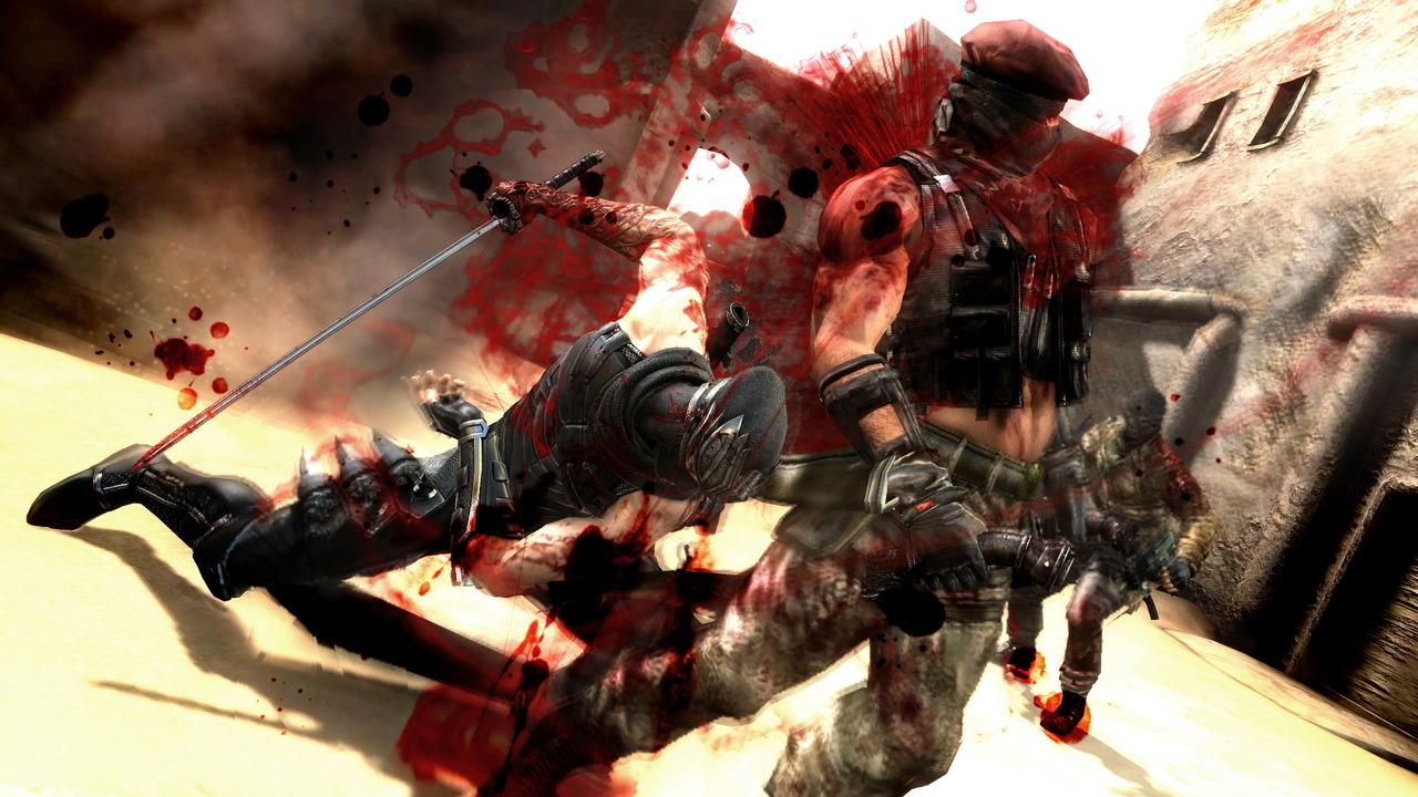 Krvavé screenshoty z Ninja Gaiden 3 55907