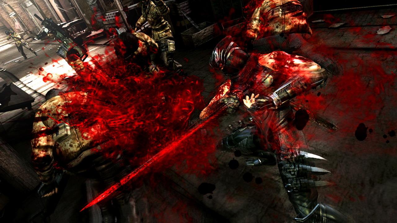 Krvavé screenshoty z Ninja Gaiden 3 55909