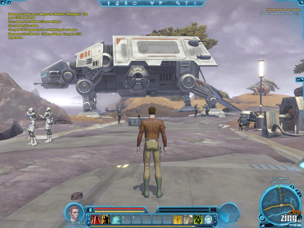 Dojmy z bety Star Wars: The Old Republic 55971