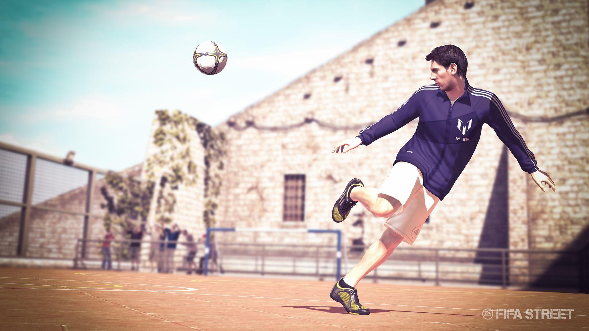 Messi se stal tváří série FIFA 56256