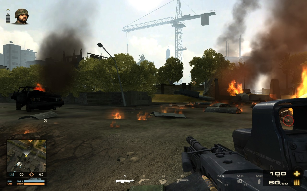 Battlefield Play4Free přidává úpravu zbraní 56888