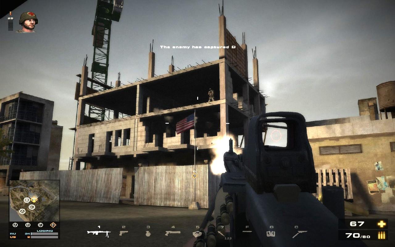 Battlefield Play4Free přidává úpravu zbraní 56891