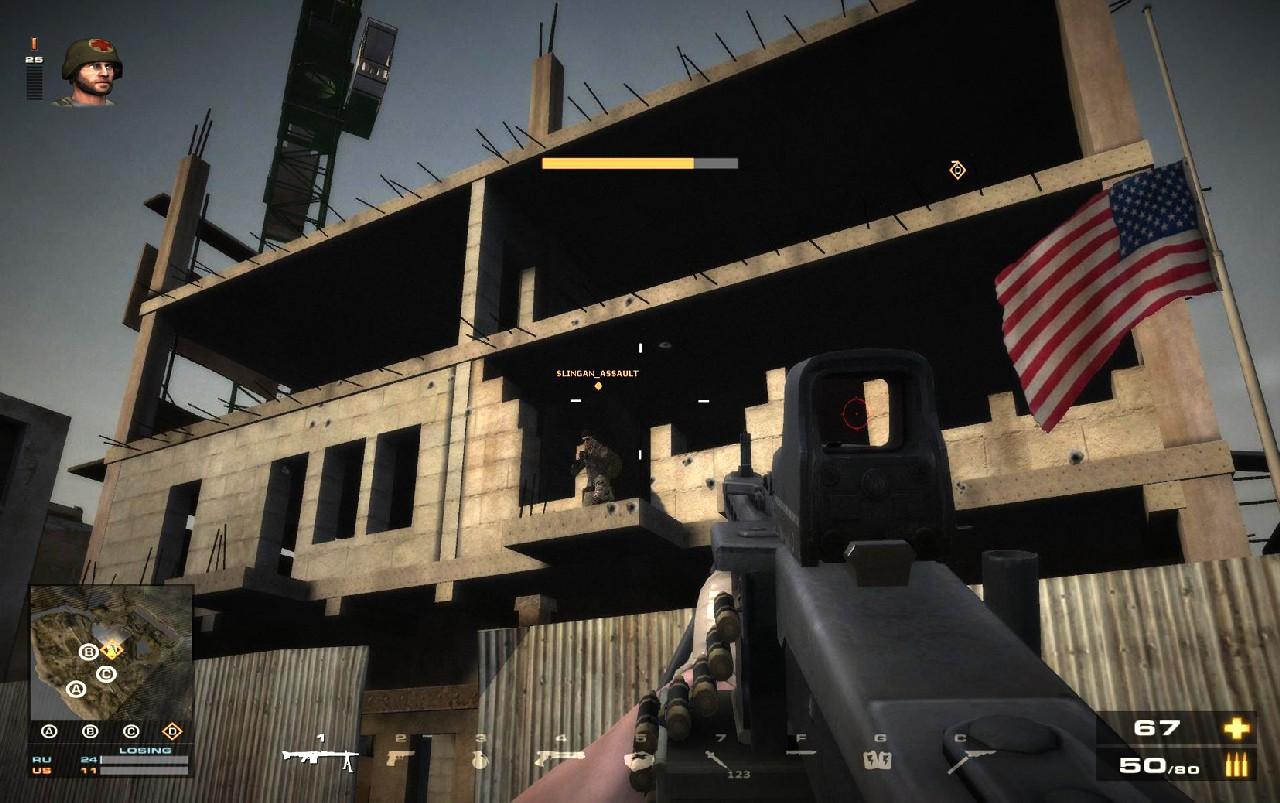 Battlefield Play4Free přidává úpravu zbraní 56892