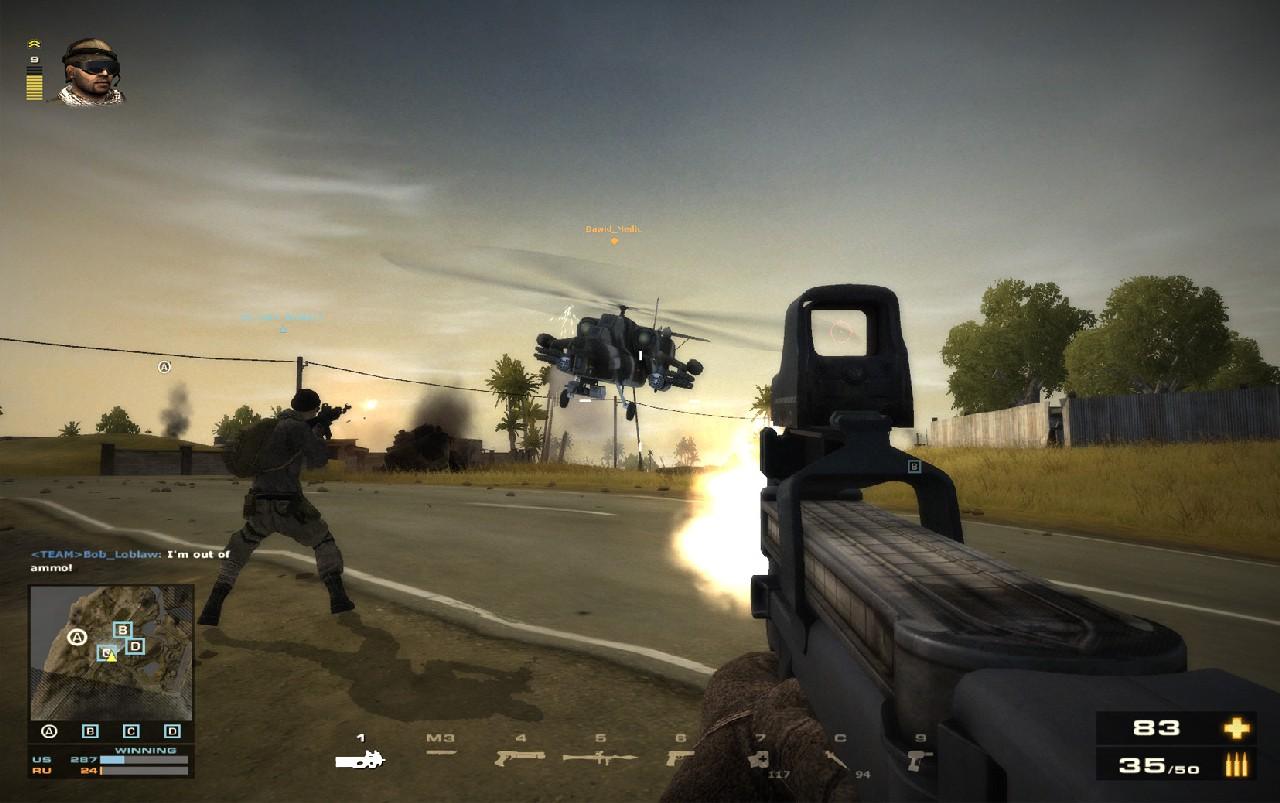Battlefield Play4Free přidává úpravu zbraní 56893
