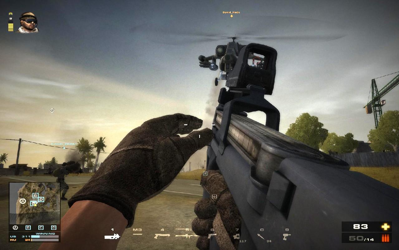 Battlefield Play4Free přidává úpravu zbraní 56894