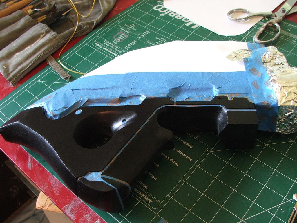 Pulzní puška N7 z Mass Effect 3 naživo 57101