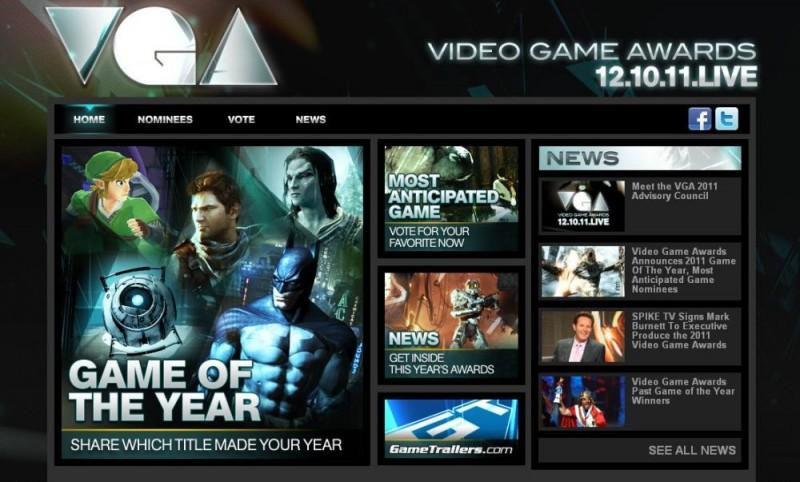 Sledujte přímý přenos cen VGA 2011 57122
