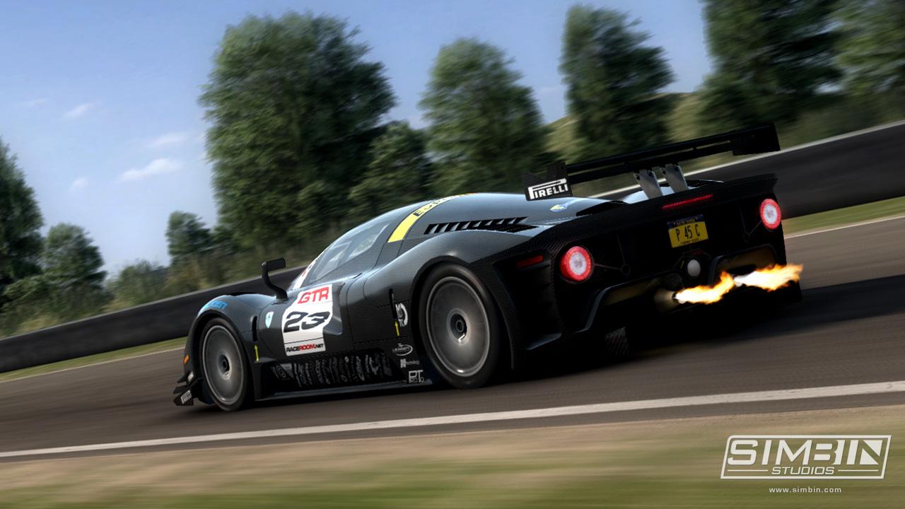 Závody GTR 3 na prvním screenshotu 57389