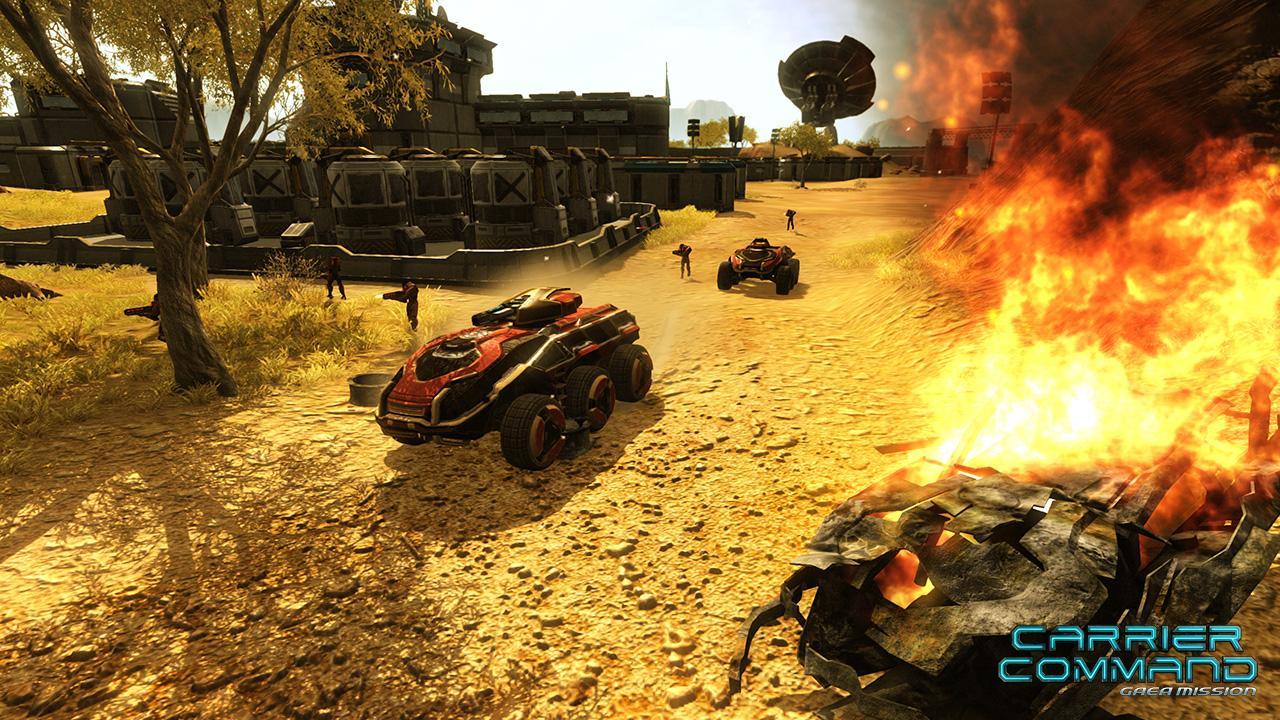 Carrier Command: Gaea Mission – znovu na návštěvě Bohemia Interactive 57480