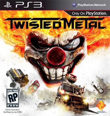 Bláznivá řež Twisted Metal odhaluje obal 57721