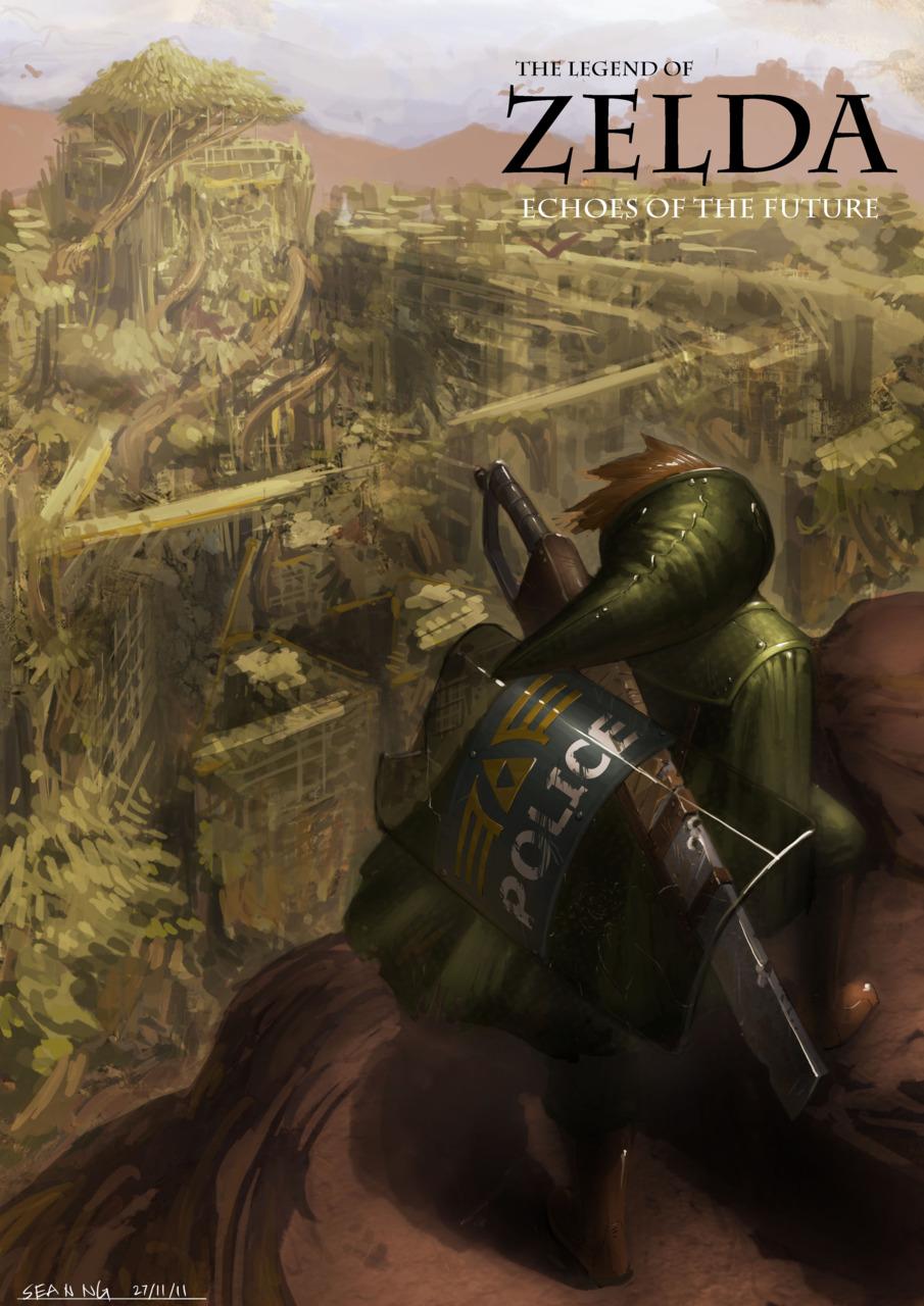 Post-apokalyptická Zelda 57857