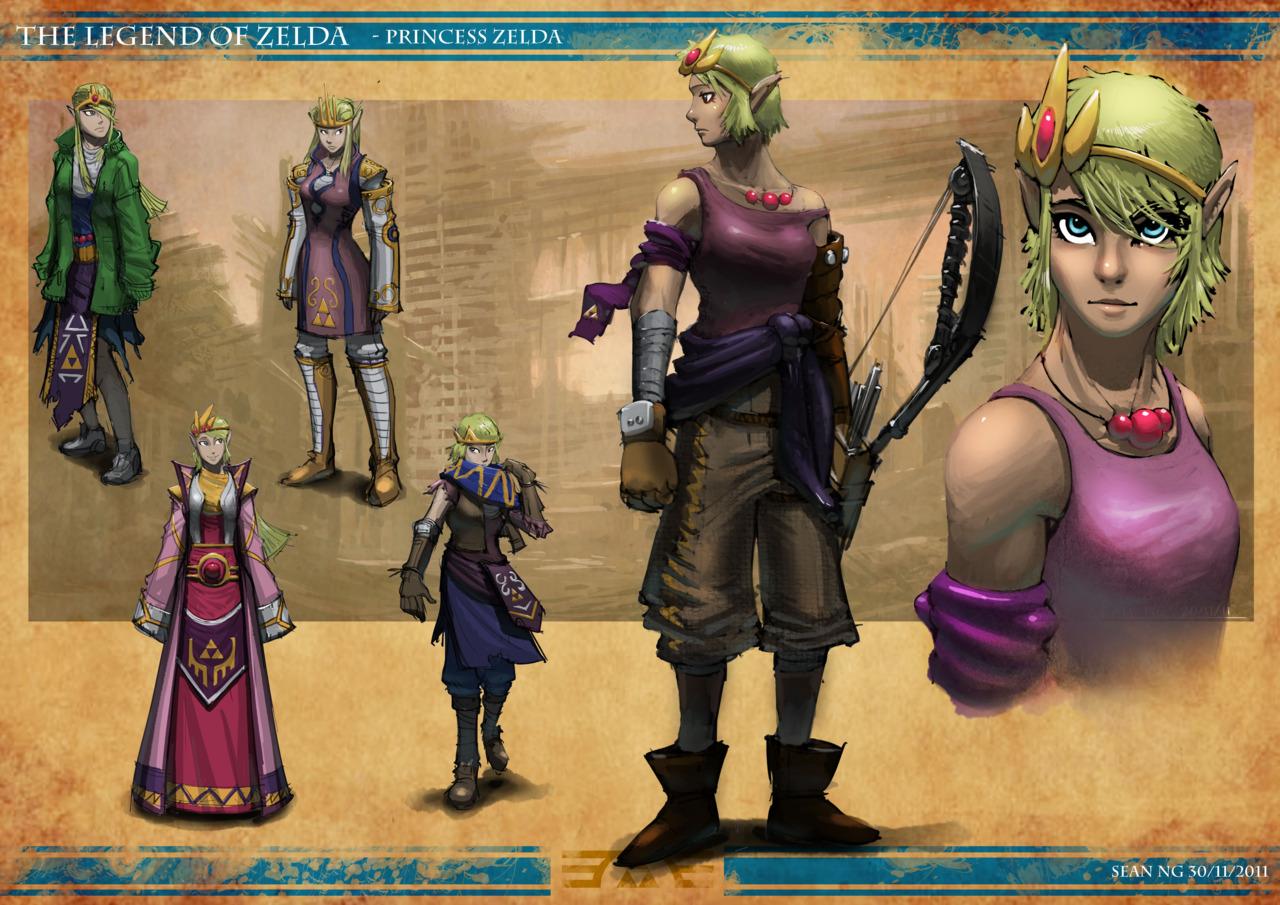 Post-apokalyptická Zelda 57859
