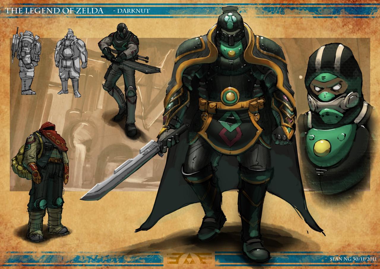 Post-apokalyptická Zelda 57862