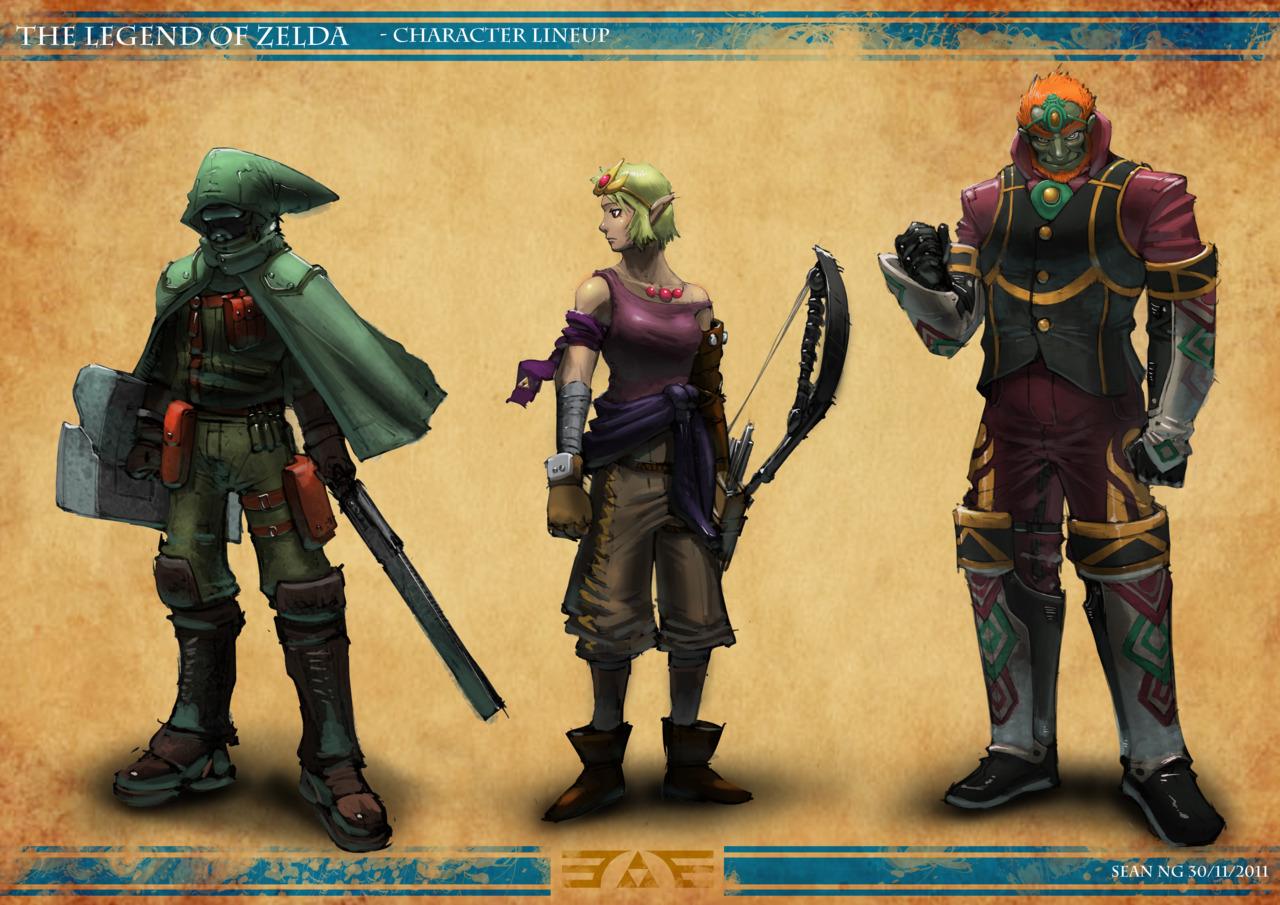 Post-apokalyptická Zelda 57865