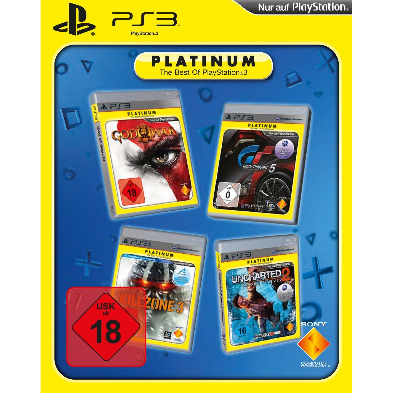 Čtyři PS3 hry ve speciálním balíčku 58042