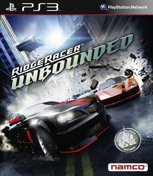 Ridge Racer Unbounded s limitovanou edicí 58730
