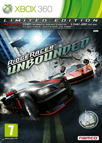 Ridge Racer Unbounded s limitovanou edicí 58731