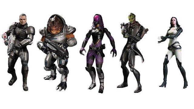 Mass Effect 3 figurky s kódem pro DLC 59093