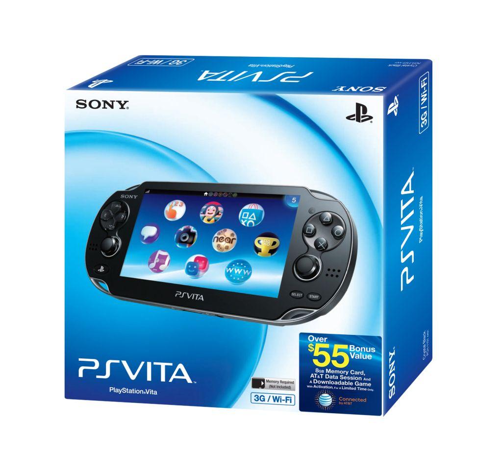 Sony představuje balíček PS Vita 3G + Memory 59366