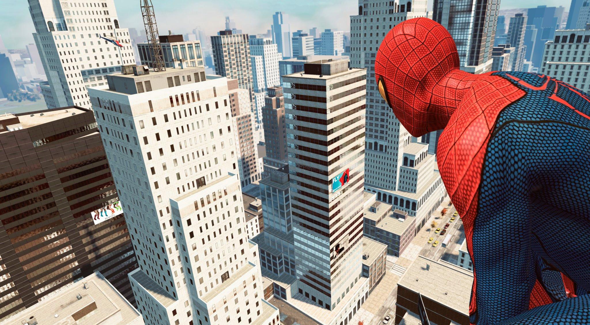 The Amazing Spider-Man: Podrobnosti o volném pohybu 59380