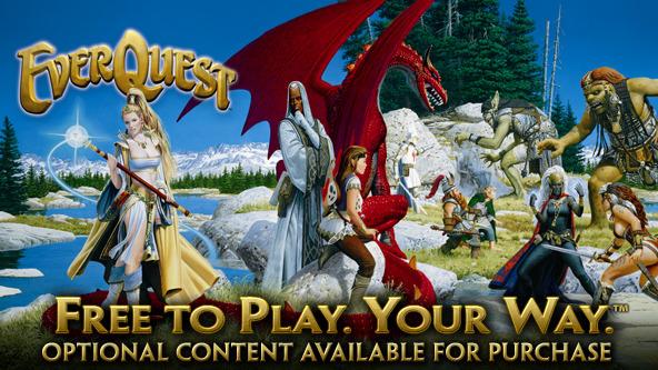 Originální EverQuest přechází na free-to-play 59584