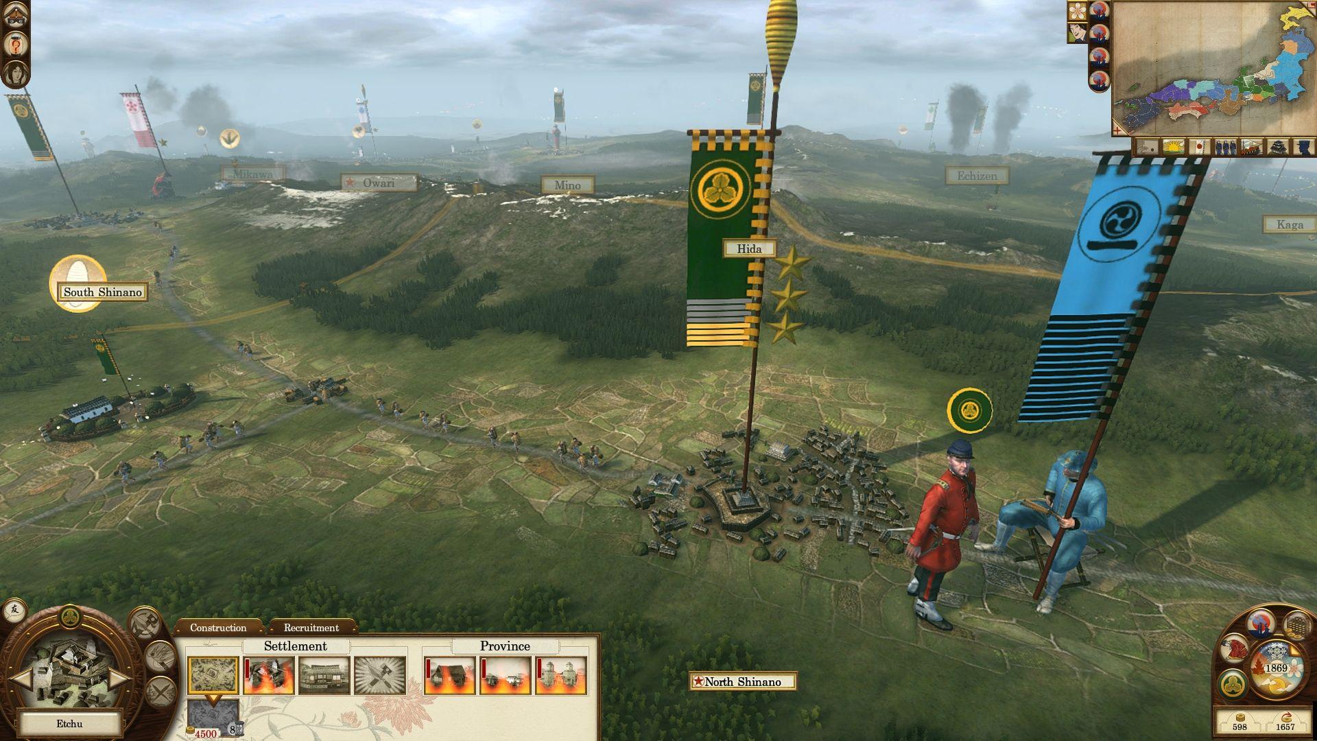 Datum vydání datadisku Shogun 2: Fall of the Samurai 59628