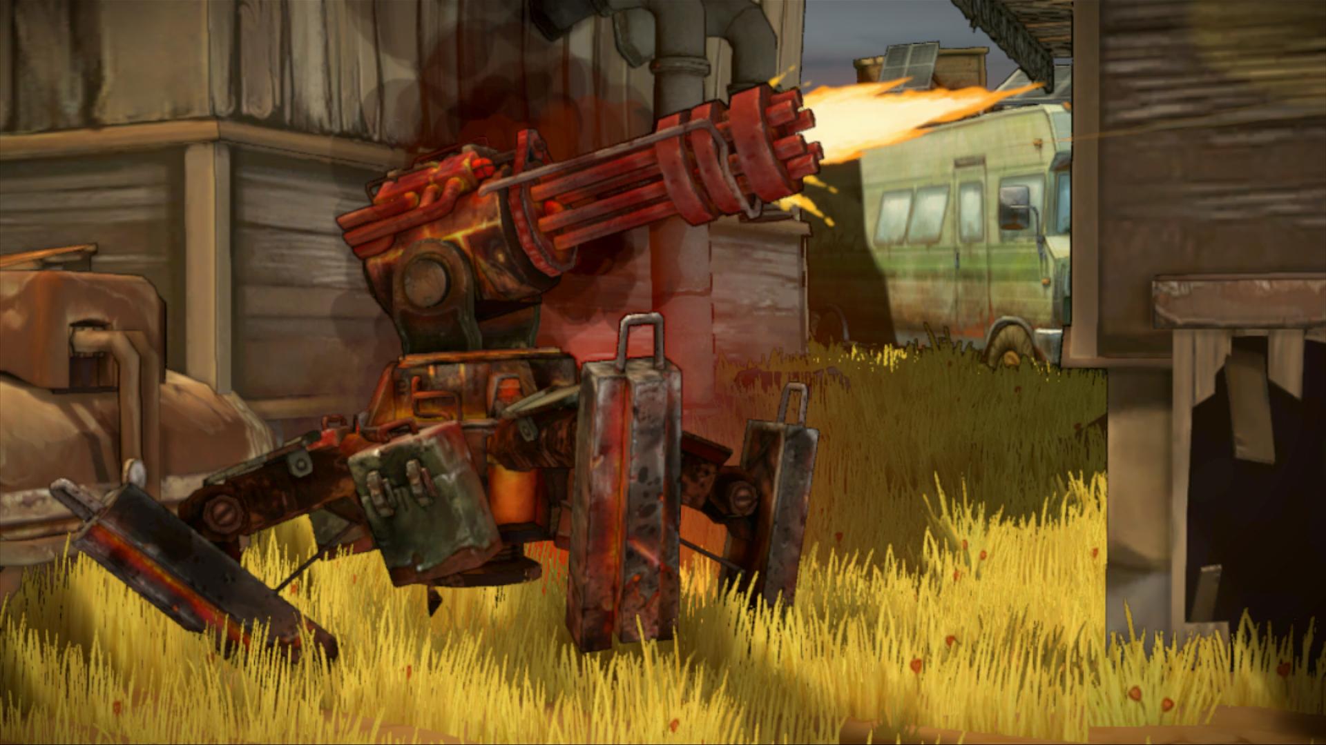 Shoot Many Robots v novém traileru a galerii 59776