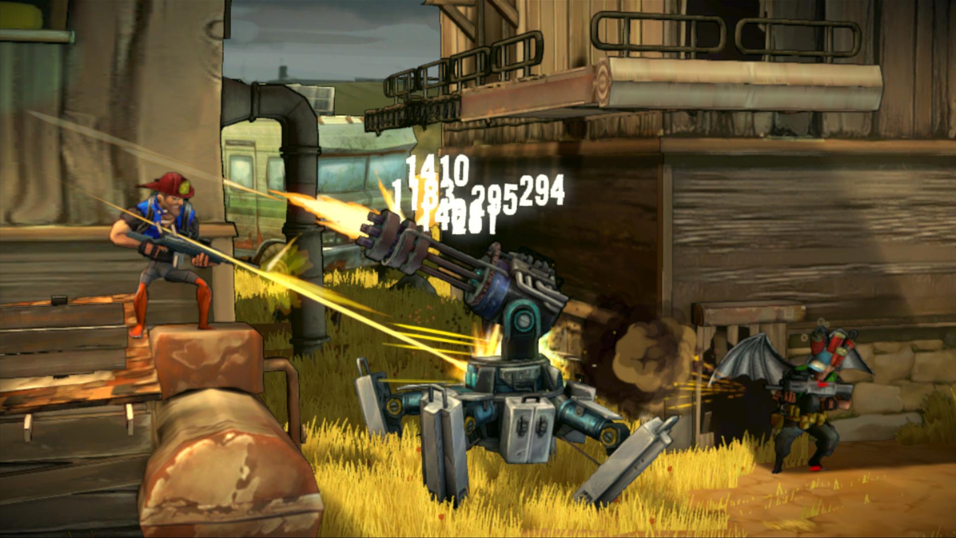 Shoot Many Robots v novém traileru a galerii 59777