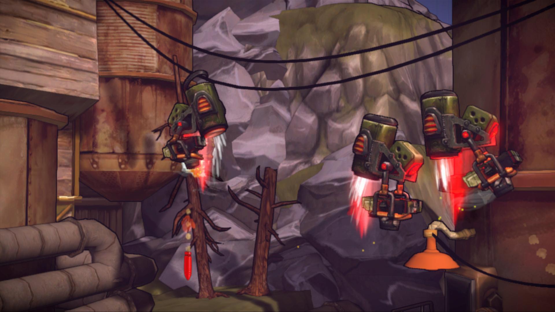 Shoot Many Robots v novém traileru a galerii 59779