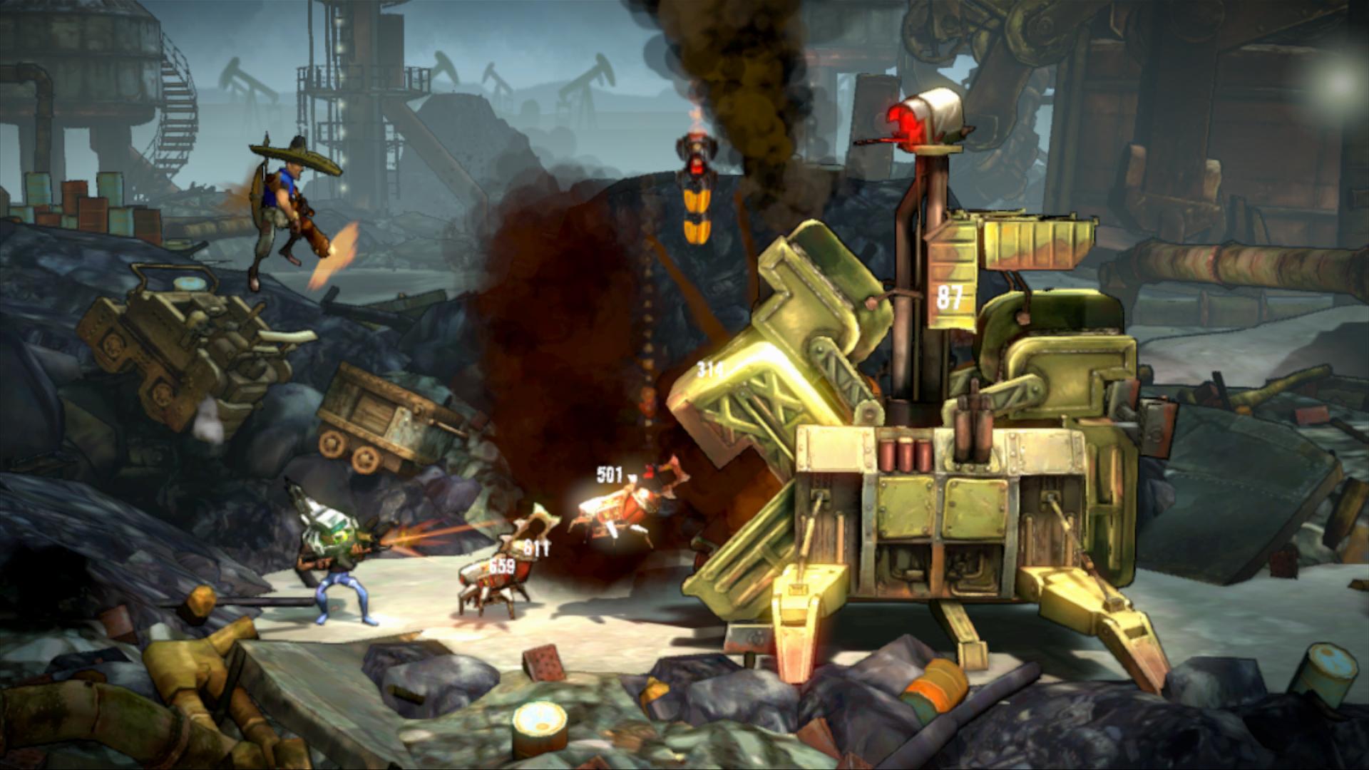 Shoot Many Robots v novém traileru a galerii 59782