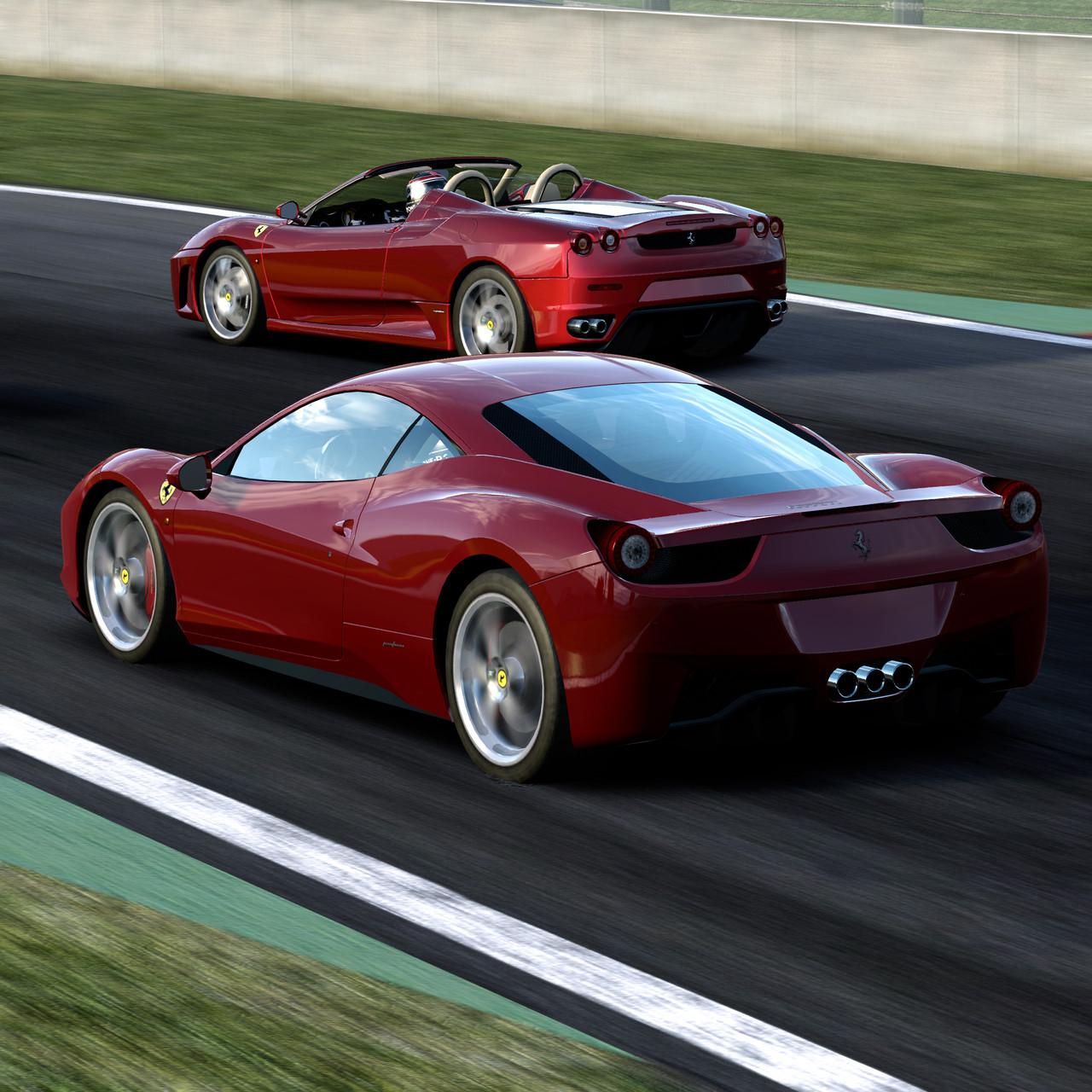 Seznam tratí z Test Drive: Ferrari 60026