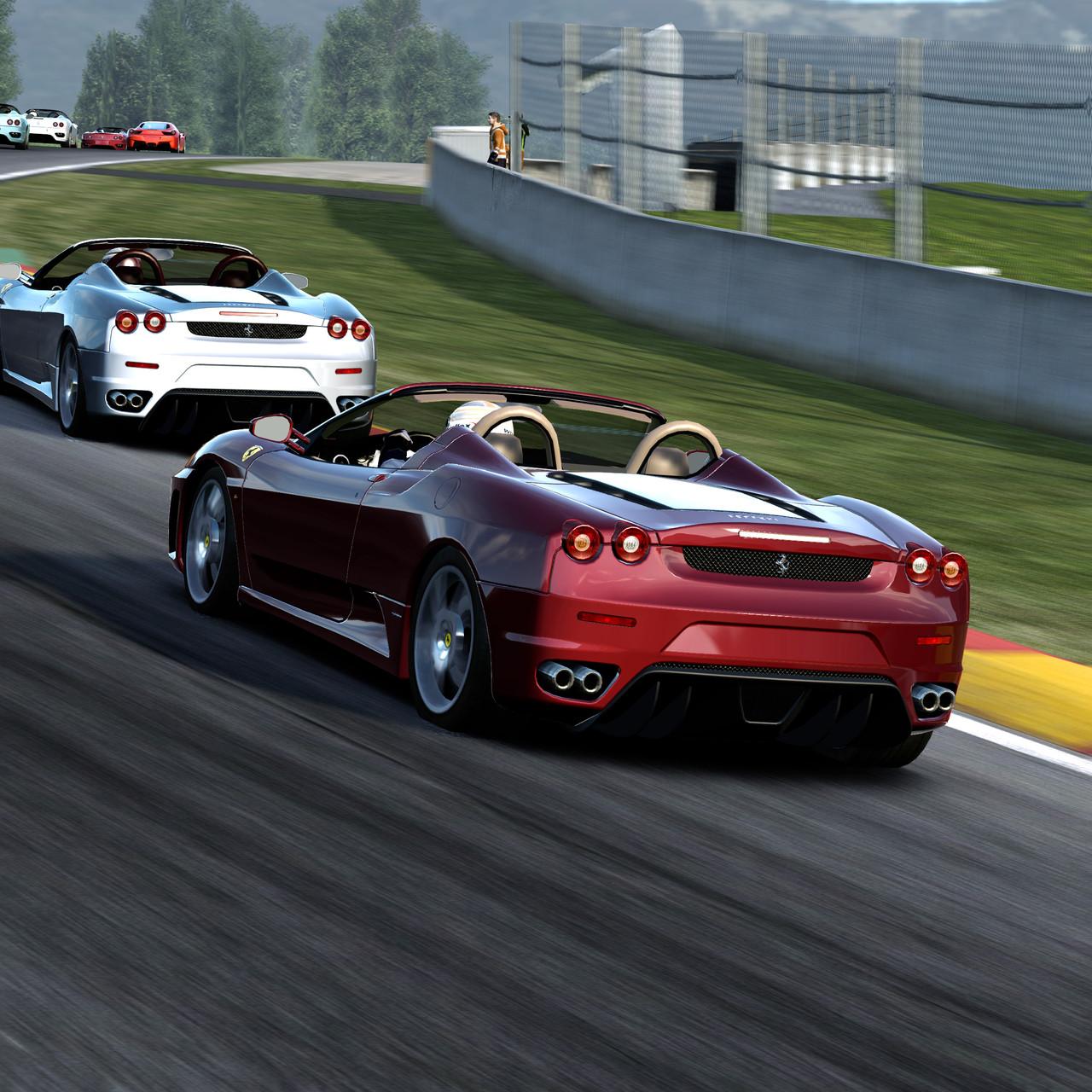 Seznam tratí z Test Drive: Ferrari 60030