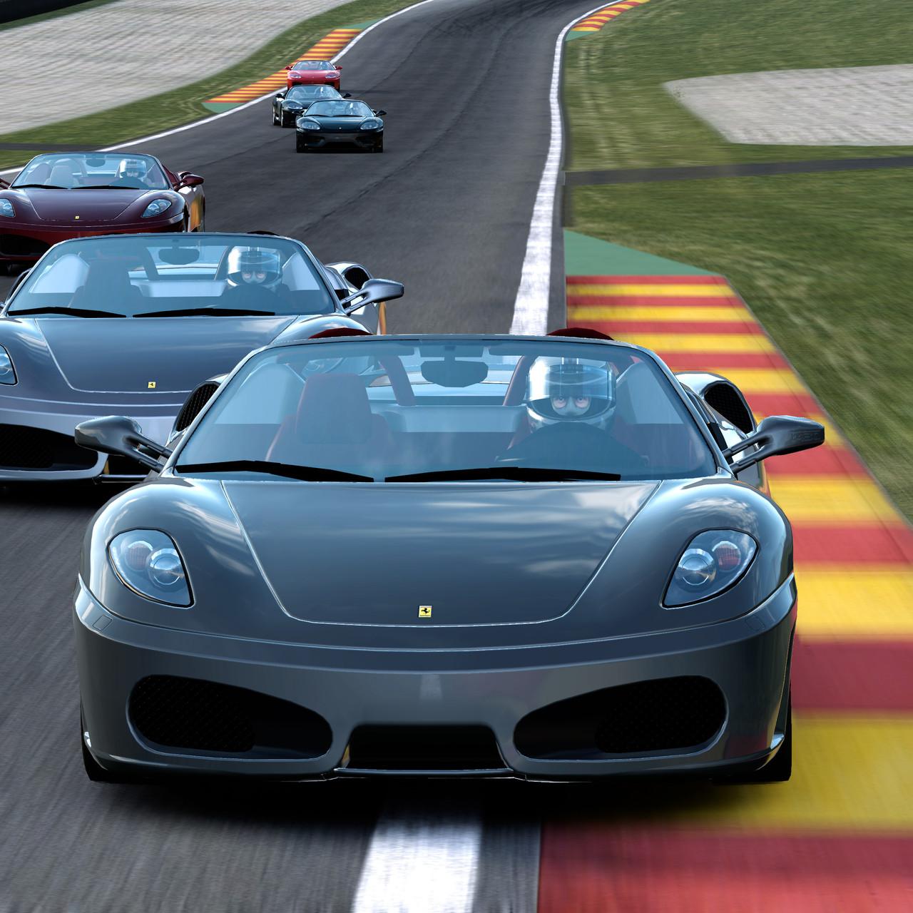 Seznam tratí z Test Drive: Ferrari 60033