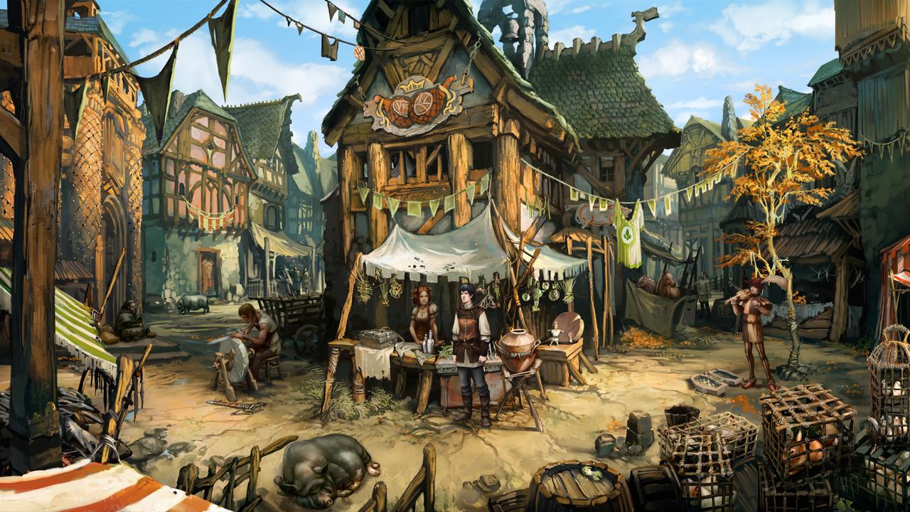 Odhalena fantasy adventura Dark Eye 60083