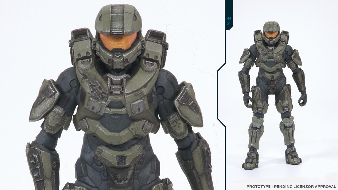 Akční figurky odhalují nový oblek Master Chiefa v Halo 4 60104