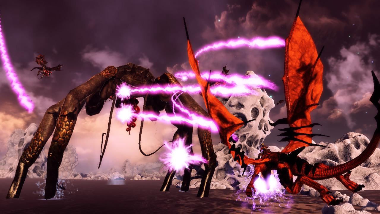 Project Draco přejmenován na Crimson Dragon 60222
