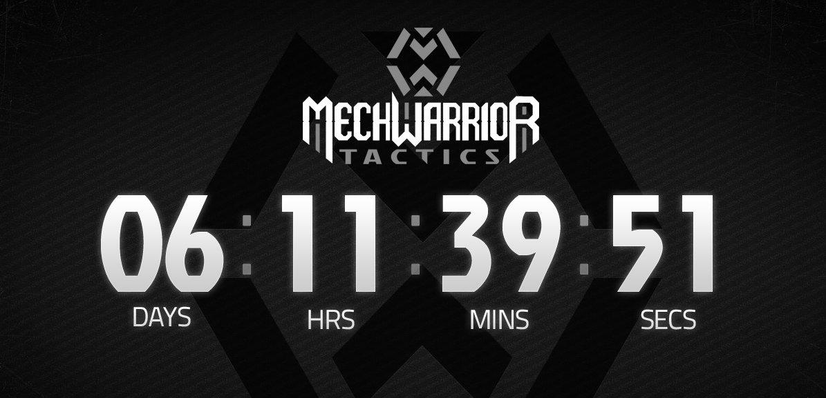 MechWarrior Tactics láká teaser stránkou 60310