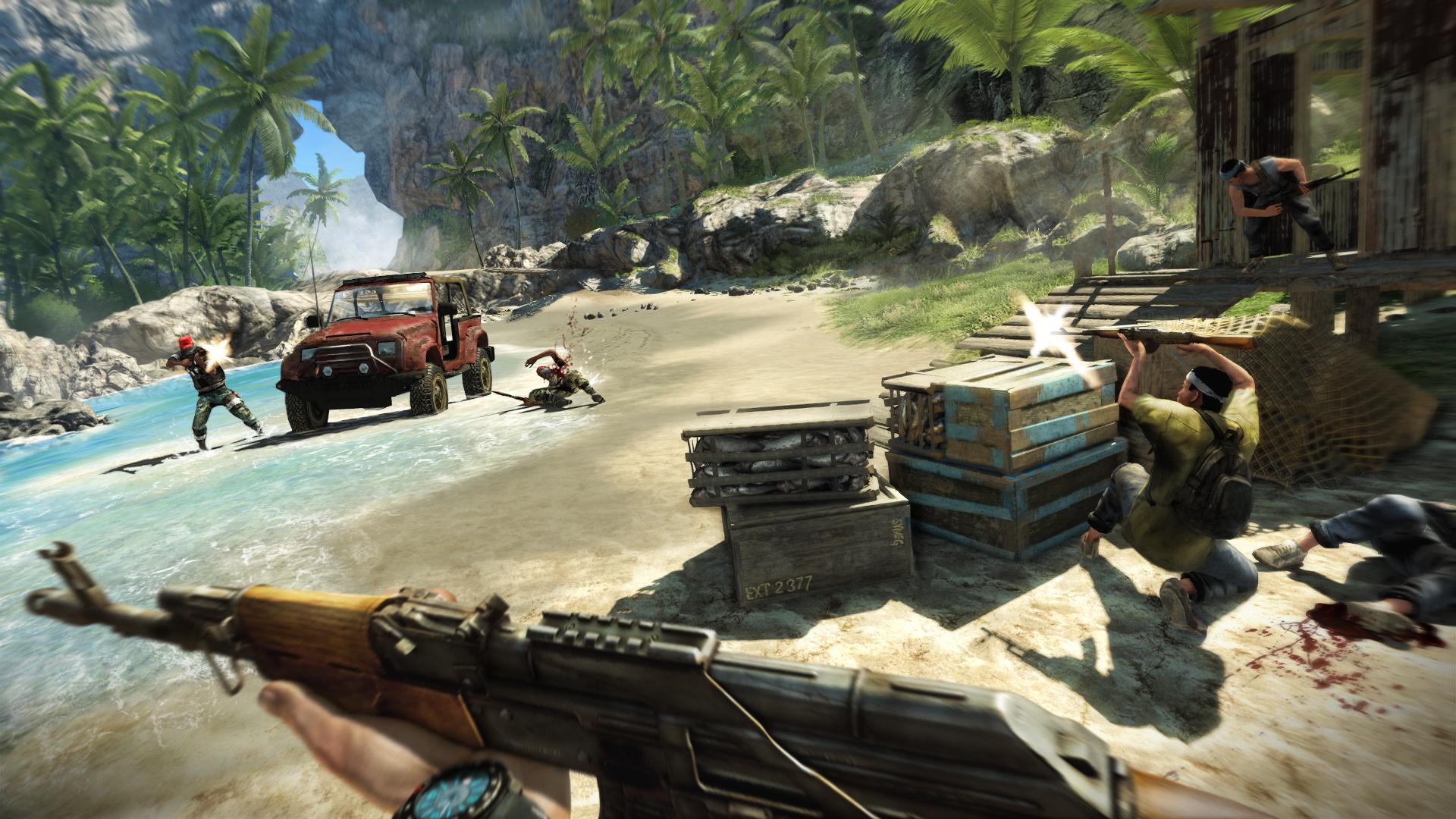 Nové obrázky z tropického Far Cry 3 60324