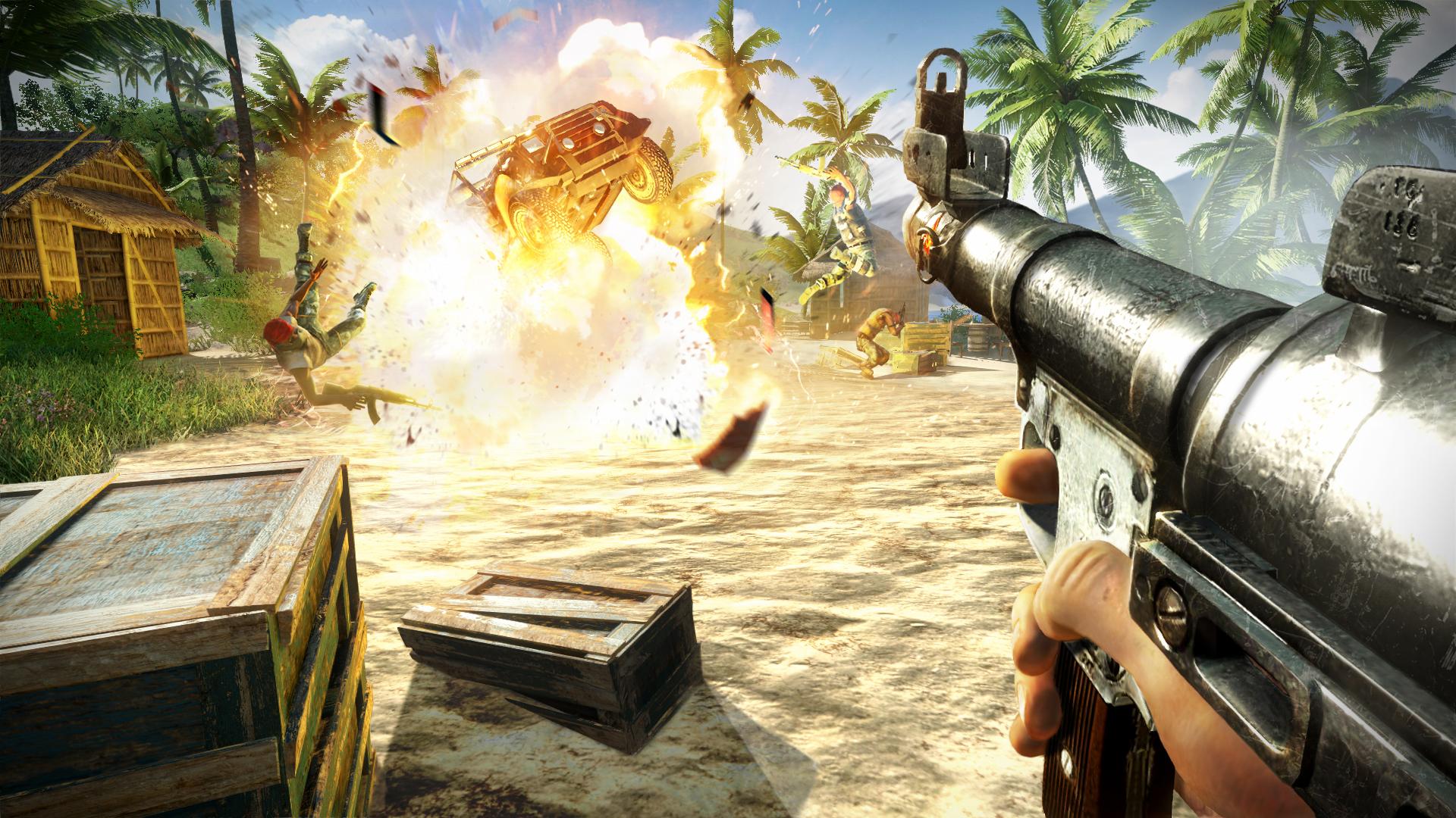 Nové obrázky z tropického Far Cry 3 60352