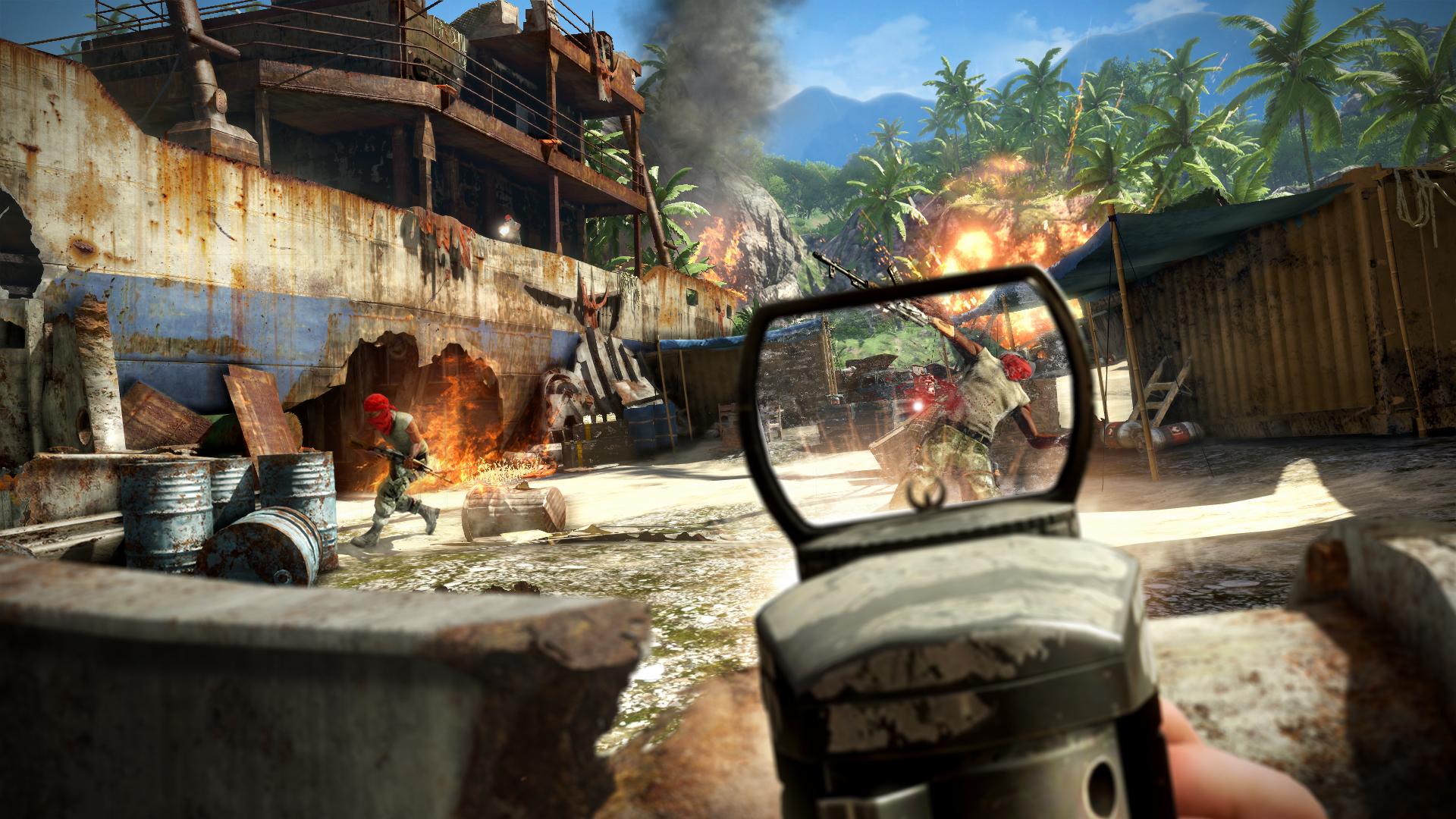 Nové obrázky z tropického Far Cry 3 60355