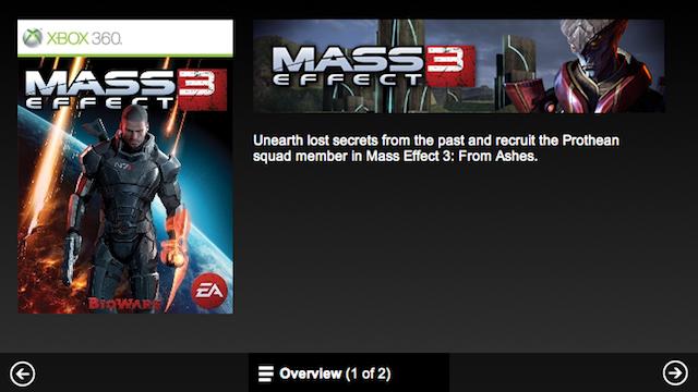 Mass Effect 3 oznámil debutové DLC 60730