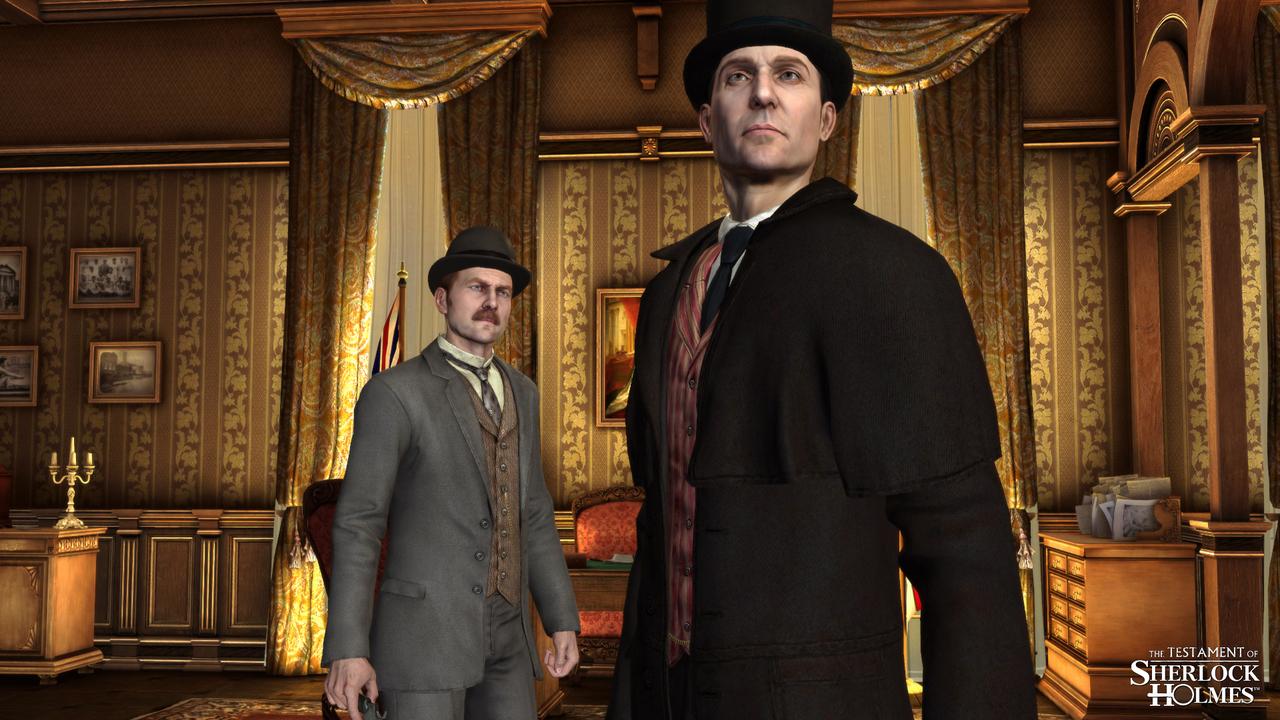 Nové obrázky z Testament of Sherlock 60842